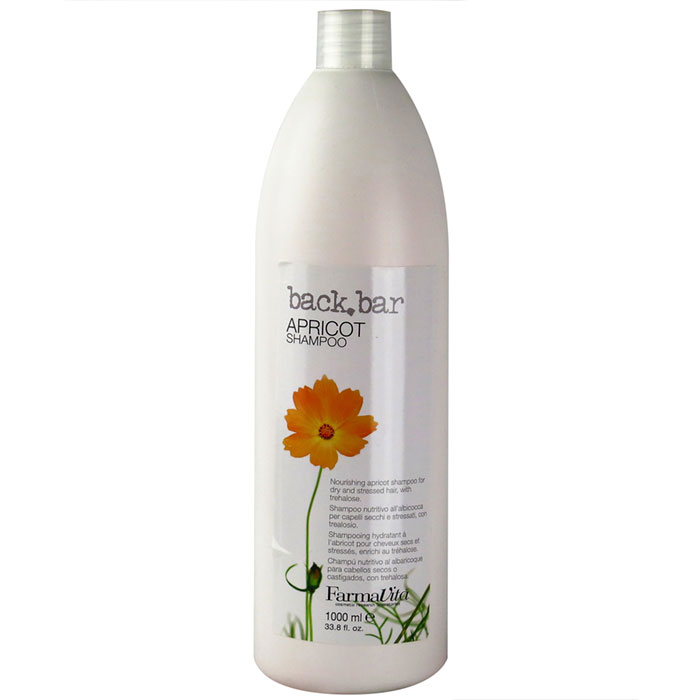 back bar apricot shampoo 1 litre