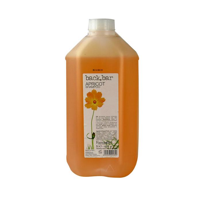 back bar apricot shampoo 5 litres