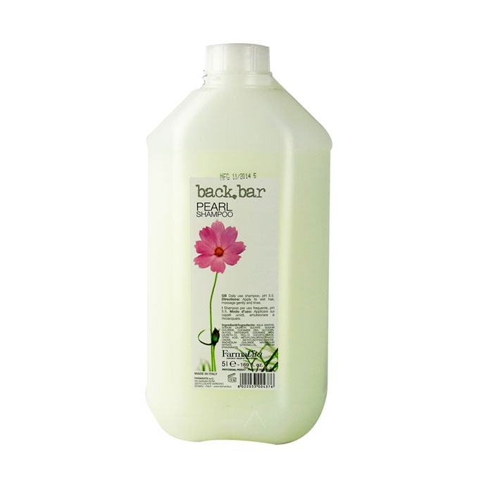 back bar pearl shampoo 5 litre