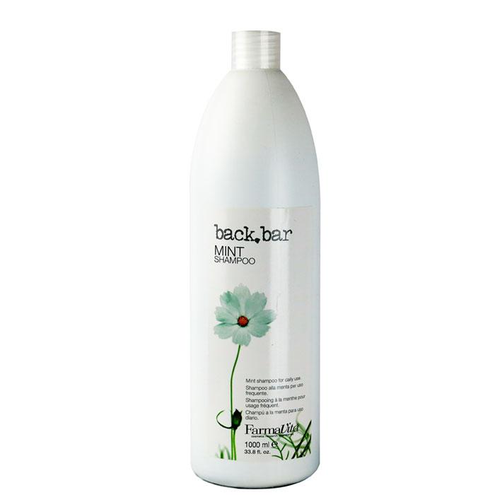 back bar mint shampoo 1 litre