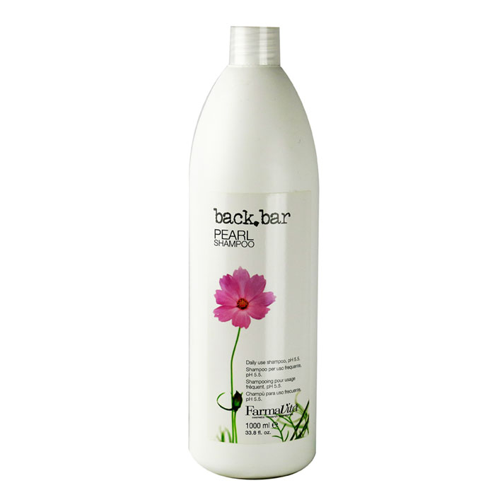 back bar pearl shampoo 1 litre